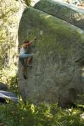 Rock Climbing Photo: Full Steam Ahead!