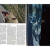 I dug up these cool shots from '87 (Prescott College has an impressive archive of climbing mags.)