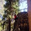 Juliette Dinh<br> Christmas Valley Bouldering<br> Tall Boy V4