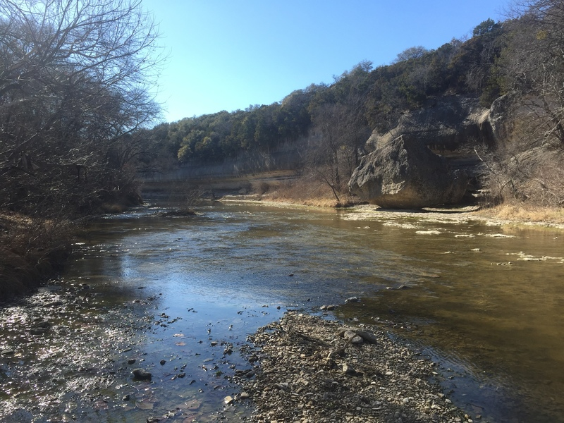 Pretty spot on the Nolan River