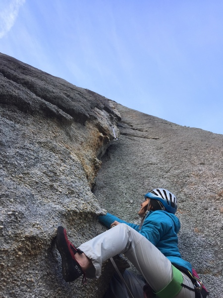 At the first horn on Pebble Power