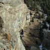 A very photogenic climb.
