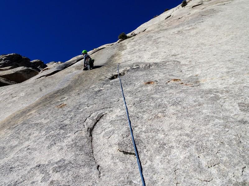 Amy leading P2, Fault Line