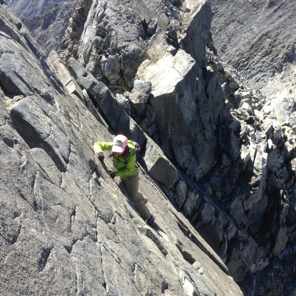 Dragon summit block class 3 ledge
