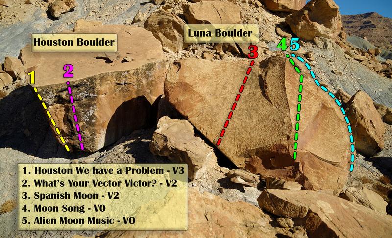 Luna Houston Boulders
