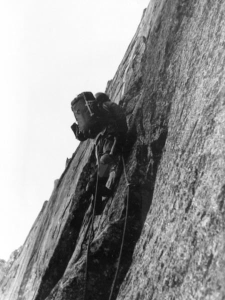 First winter ascent, 1976.