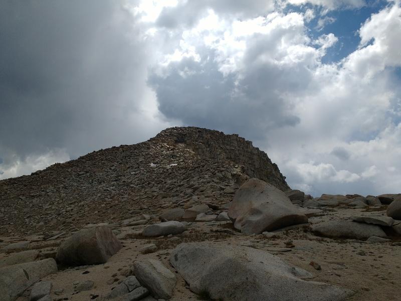 Northeast ridge descent