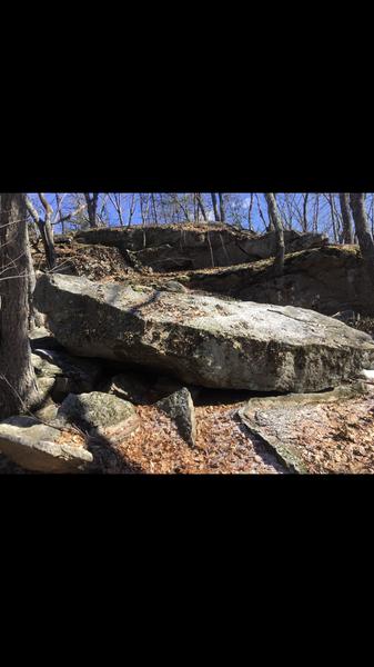 Cool chunk of stone.