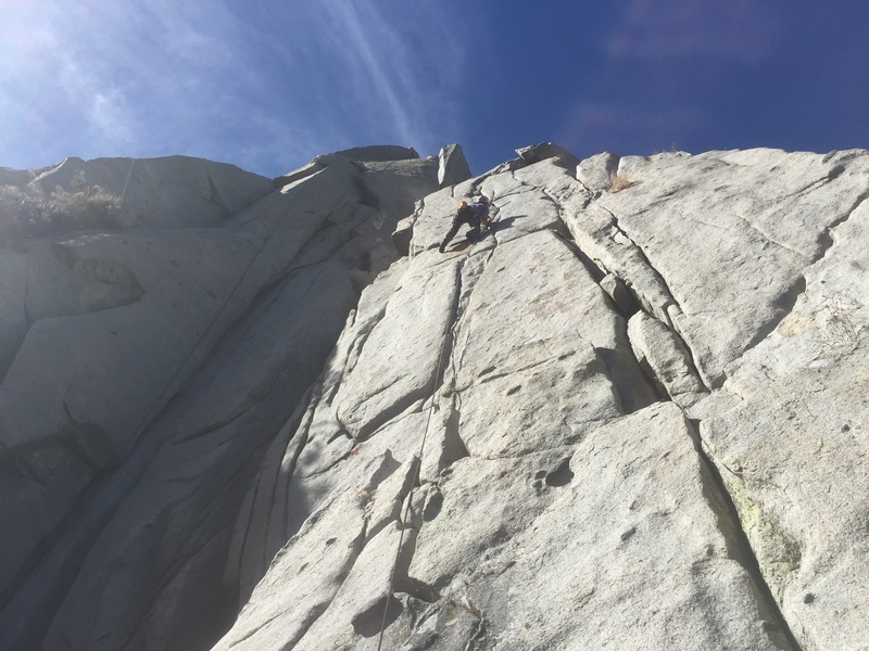 Climber on The Crocodile's Toothache