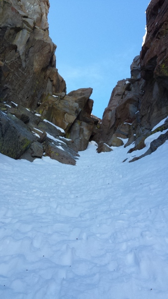 Looking up at pitch 5.