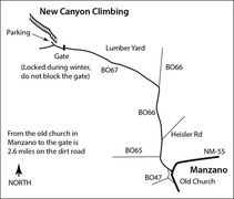 Directions to New Canyon