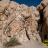 Spider Wall Routes based off Robert M. 2nd Edition (page 501). Located behind campsite #64.