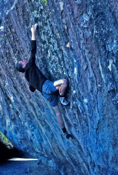 Doing an ascent,.. circa '86...