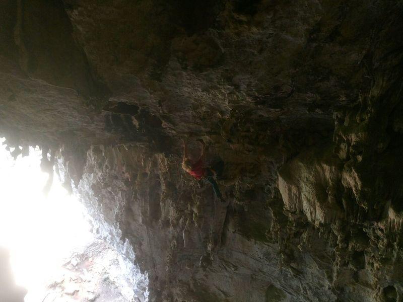 """First Ascent of """"La casa del murcielago mutante"""""""