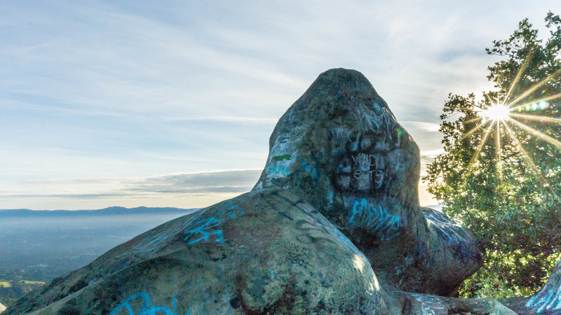 Scenic Photo of Summit Rock