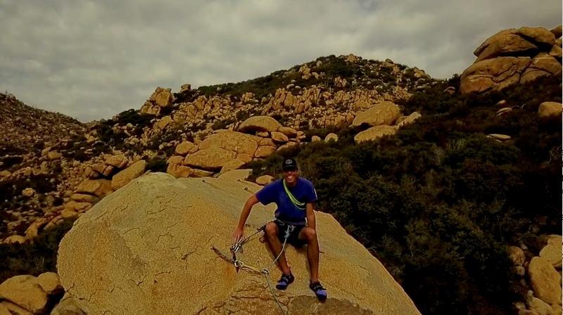 On top the Hone Pinnacle.