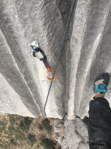 Crack climbers will be psyched about the runnel finish. A bomber hand jam to flaring fists -- SO GOOD.