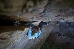 Climber: Lindsey Hamm <br />Photo by Anthony Johnson