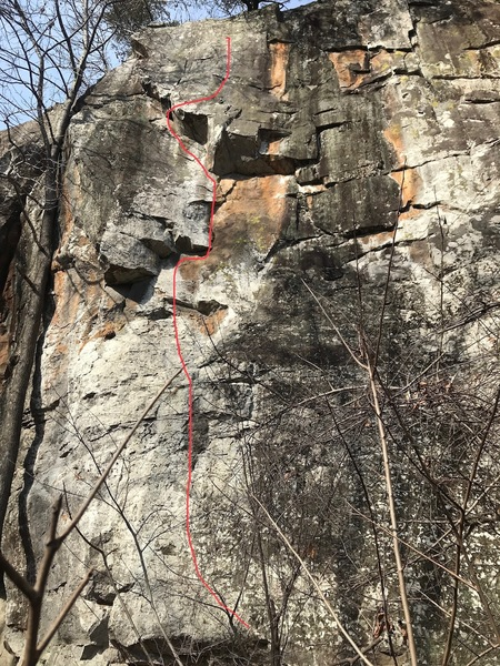great climb, fun and varied climbing