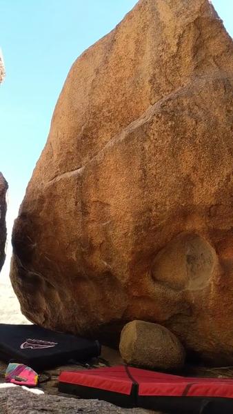 Secret clubhouse boulder