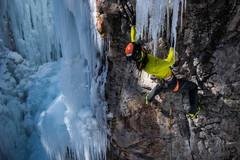 Rock Climbing Photo: First ski boot ascent?
