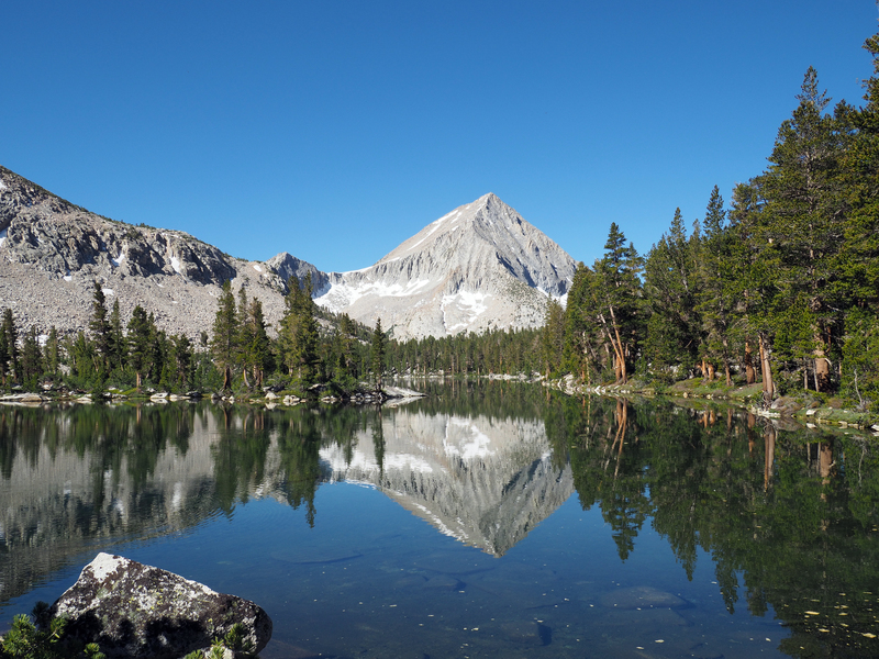 Arrow Peak and Bench Lake