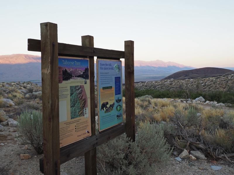 Taboose Pass Trailhead