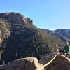 On top of Flying Fish Buttress.