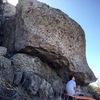 Thriller boulder in the Upper Irish cluster