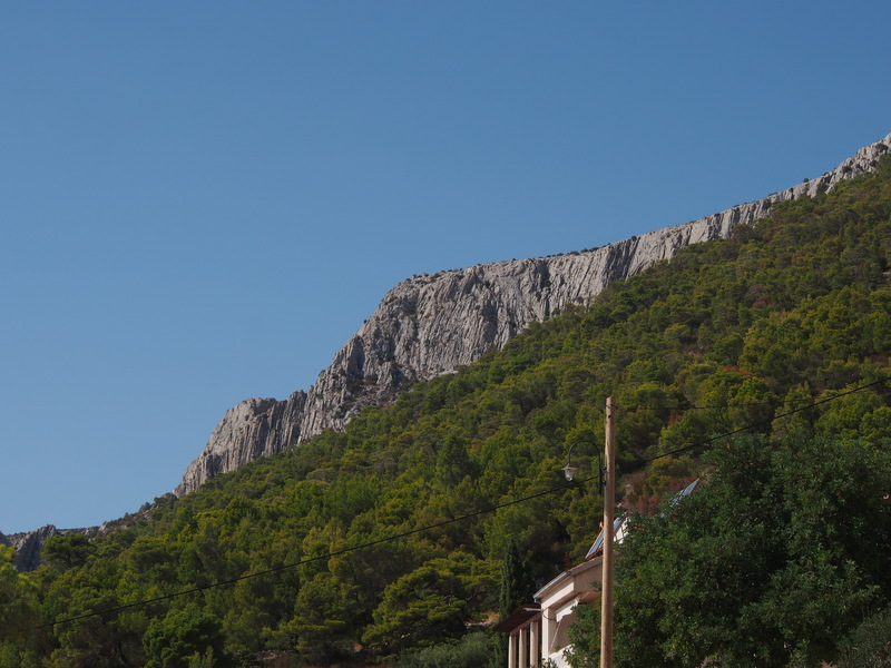Cliffs above Sveta Nedilja