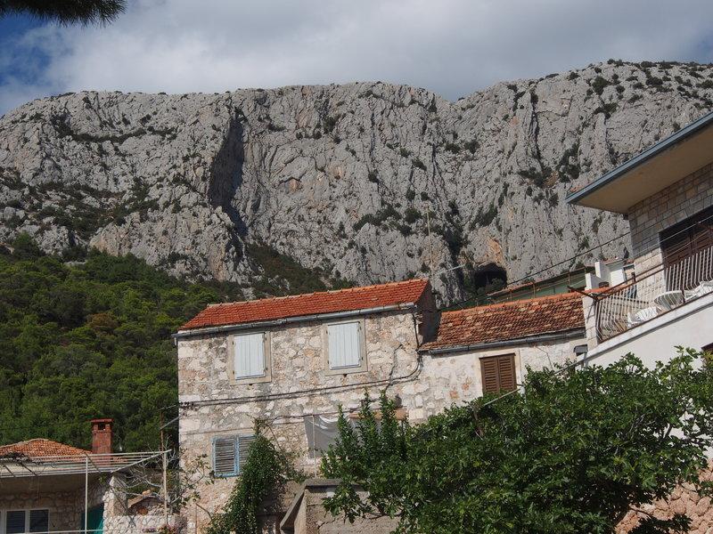 Still more cliffs above Sveta Nedilja