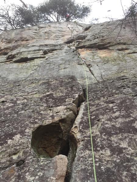 Fun climb left of Graham's crack