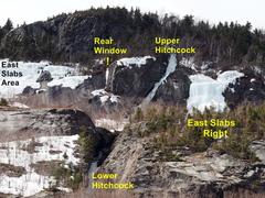 Very Late Season - East Slabs Area