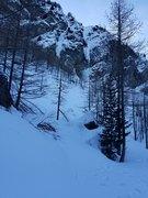 Rock Climbing Photo: Pattinaggio artistico on the left, Hard ice in the...