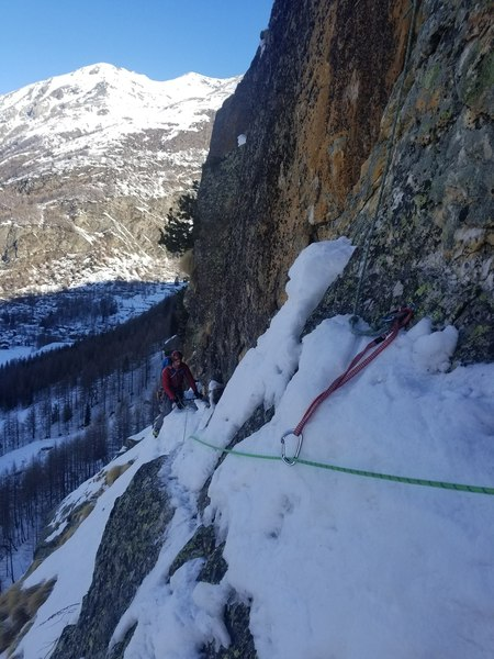 Finishing theinitial traverse