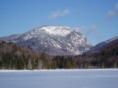 Wallface from Henderson Lake