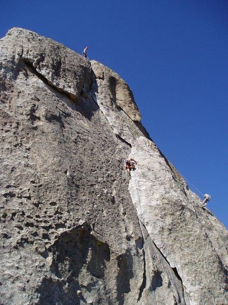 Climbers on Rye Crisp