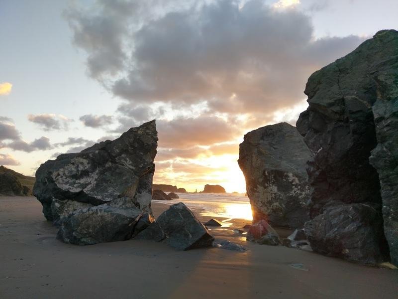 Bandon sunset.