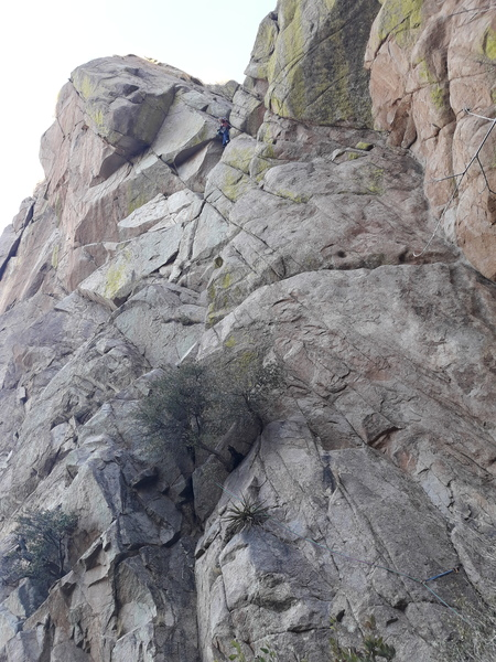 start of route and pitch 1