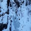 """Climbers on """"Vermorkbrofoss West"""""""