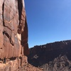Amazing views up and down Long Canyon. Very scenic and sunny Winter wall