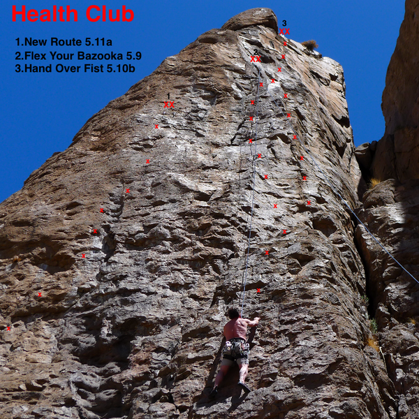 Topo To Unknown 5.11a
