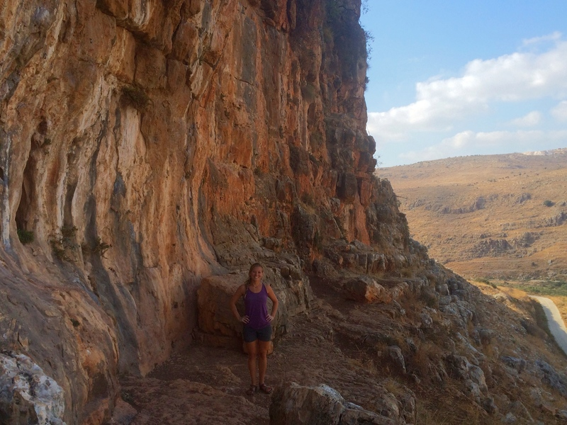 Climbing in Israel - West Bank