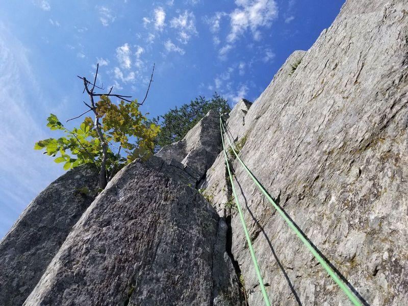 "5.5 ""Missing Years""  Pretty straight forward climb."