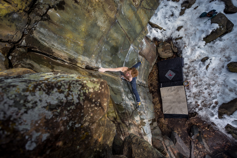 Climber: Jacob Fast<br> Photo by: Anthony Johnson