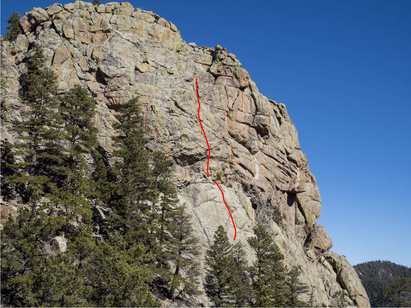 This shows the approximate top of pitch 1 and approximate line of pitch 2 of Abracadabra.