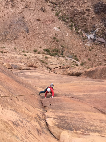 Chris on the last pitch of Inferno