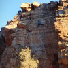 Dan re-redpointing Four Play. Great route with tiny holds and delicate balance for the first few bolts.