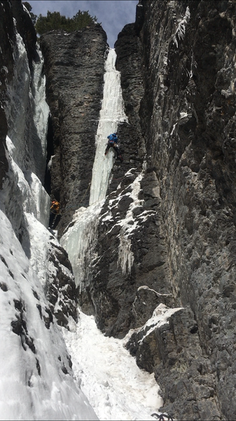 Eric Wright leading Killer Pillar, Feb. 2018.
