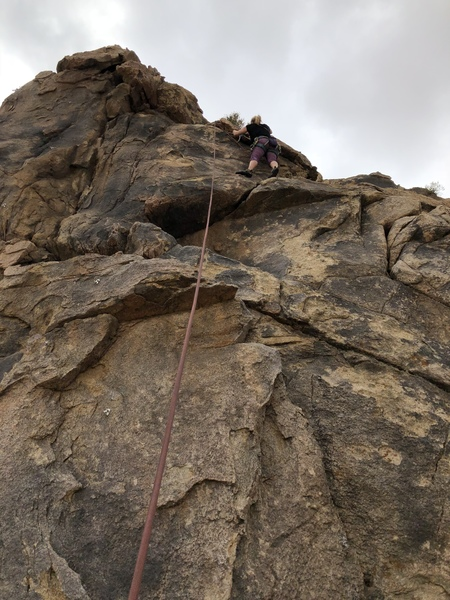 Michelle Watkins finishing Gigawatts 5.9
